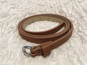Clockhouse Faux Leather Belt light brown imitation leather