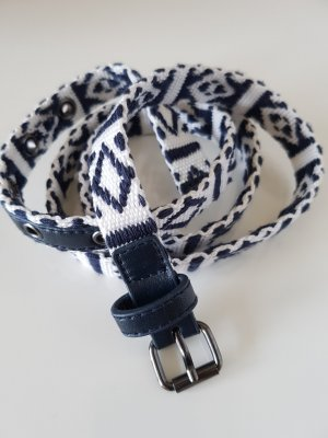 Cinturón de cadera blanco-azul oscuro