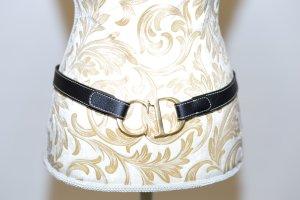 Schmaler Hüftgürtel von Christian Dior - schwarz