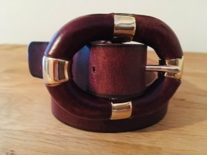 Dsquared2 Leather Belt multicolored leather