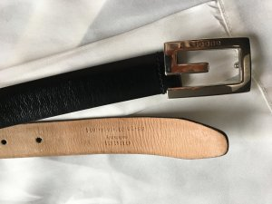 Gucci Leather Belt black leather