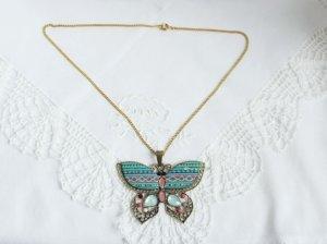 Schmetterling Kette goldton altmessington