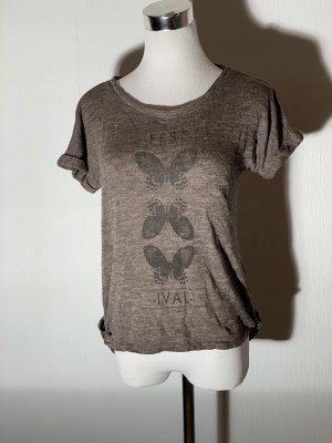 Camisa tejida gris