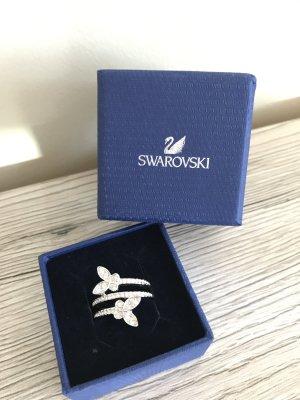 Swarovski Bague en argent argenté