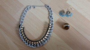 Schmuck Kette, Ring und Ohrringe