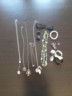 Schmuck Paket Armband Halskette Choker Brosche
