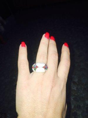 Ring multicolored acetate