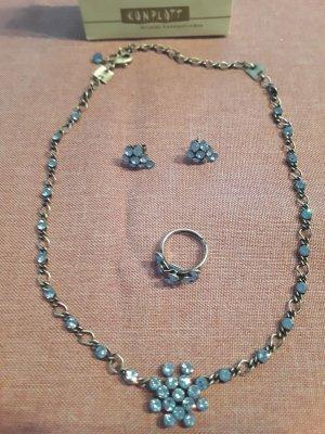 Konplott Collier blu fiordaliso-azzurro