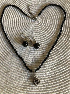 Schmuck Set Halskette Ohrringe