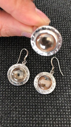 SCHMUCK-SET OHRRINGE + RING