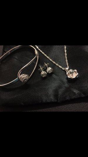 Schmuck Set - Swarovski kristalle - NEU - Geschenk - ROSE