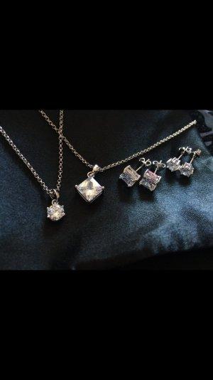 Schmuck Set - Zircon diamant - 2für1 - NEU - geschenk