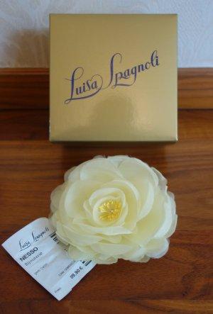 Luisa Spagnoli Broche jaune clair