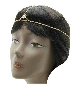 Nastro per capelli oro Metallo