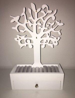 Schmuckbaum mit Schmuckkasten