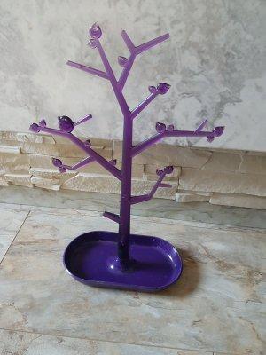 Chaîne violet foncé