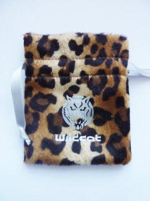 Schmuckbeutel Wildcat Beutel Leopardenmuster Fake Fur Leopard Animal Print