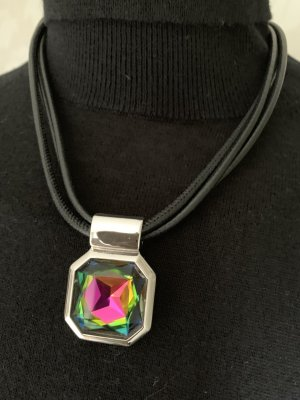 Pierre Lang Pendant silver-colored-green metal