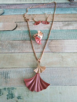 Collier or rose-vieux rose