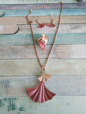 Necklace rose-gold-coloured-dusky pink