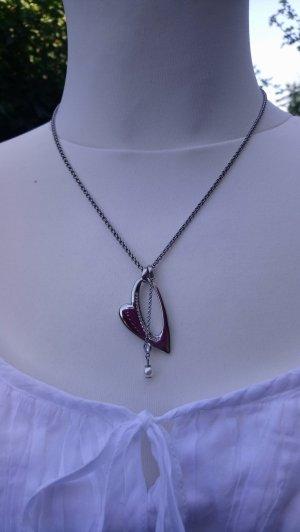 Schmuckset FOSSIL Herz Hals- und Armkette