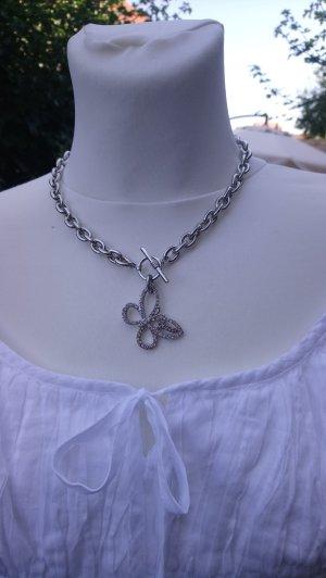 Schmuckset GUESS Schmetterling Hals- und Armkette