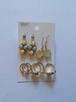 Schmuckset H&M neu Ringe und Ohrringe