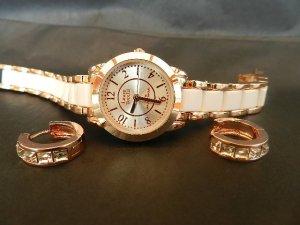 Laura Torelli Analog Watch rose-gold-coloured-white