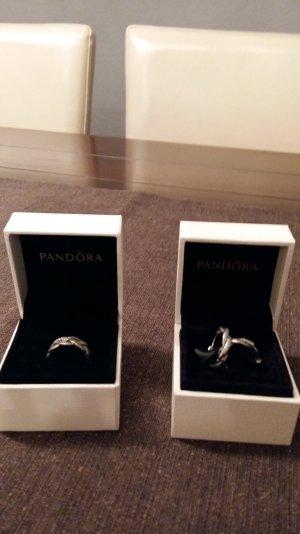 Schmuckset Ring und Ohrringe Pandora