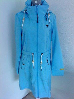 Schmuddelwedda / Dreimaster * Softshellmantel * Gr. XL * babyblau