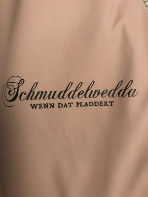 Schmuddelwedda Chubasquero rosa claro-gris antracita