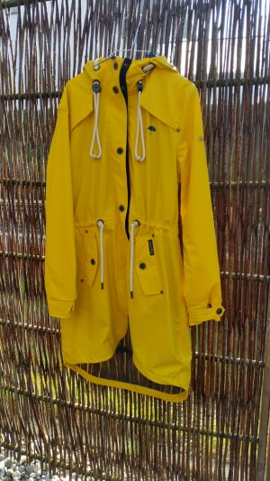Schmuddelwedda Raincoat yellow polyester