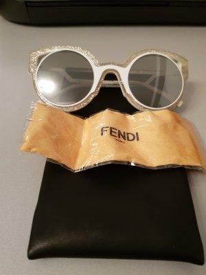 Schnäppchen FENDI FF 0137/ S PARADEYES NU6 Gold Matte White | Silver Grey Neu