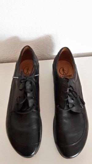 Schnäppchen: Ganter Damenschuh, Halbschuh, schwarz, Leder, Gr. 6,5, 1x getragen, wie neu!!
