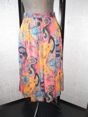 Maxi Skirt multicolored viscose