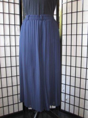 Falda pantalón azul oscuro poliamida