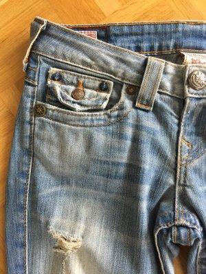True Religion Boot Cut Jeans multicolored cotton