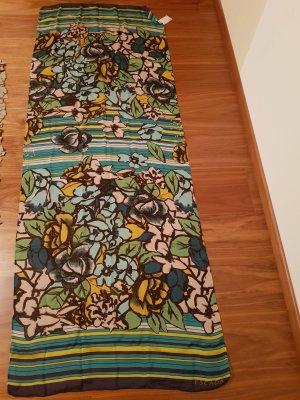 Schnäppchen Seidenschal Escada Fantasy Blüten Neu in Geschenksverpackung
