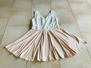 Bodyflirt Kanten jurk veelkleurig Katoen