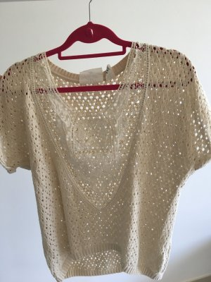 H&M Knitted Top oatmeal