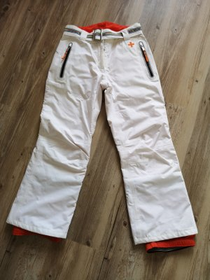 Pantalone da neve bianco