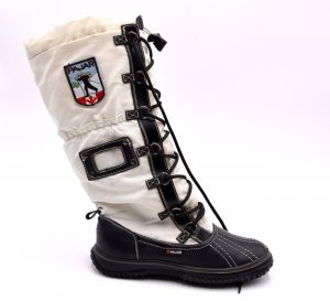 Winter Boots white leather