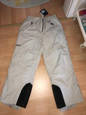 Pantalón de esquí color plata-negro