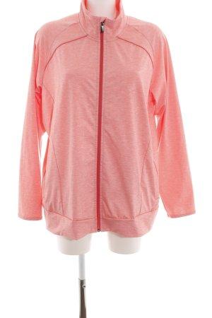 Softshelljacke pink-rot meliert Casual-Look
