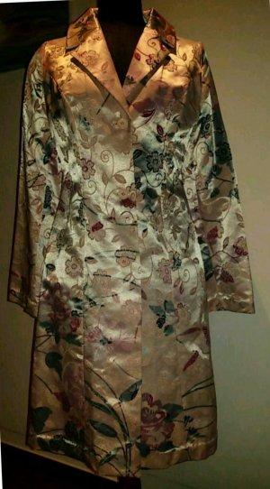 Geklede jas veelkleurig Textielvezel