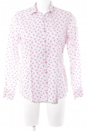 Schneiders Salzburg Camisa de manga larga rosa claro-rosa estilo clásico