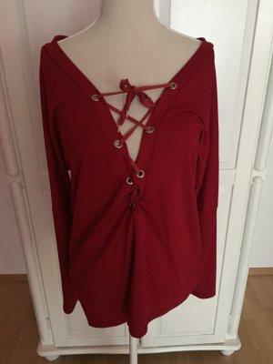 Schnür-Bluse Pullover