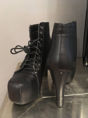 Schnür-Platteau-Boots