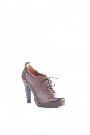 Lace-up Pumps brown