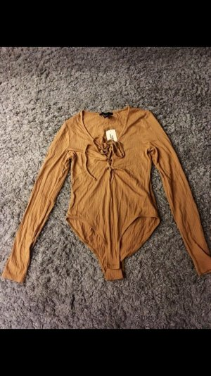 Forever 21 Shirt Body camel-brown